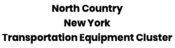 Logo North Country New York Transportation Equipment Cluster